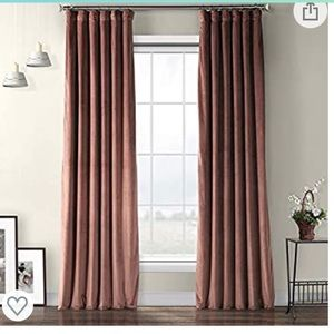 "Blackout 108"" window curtain panels"
